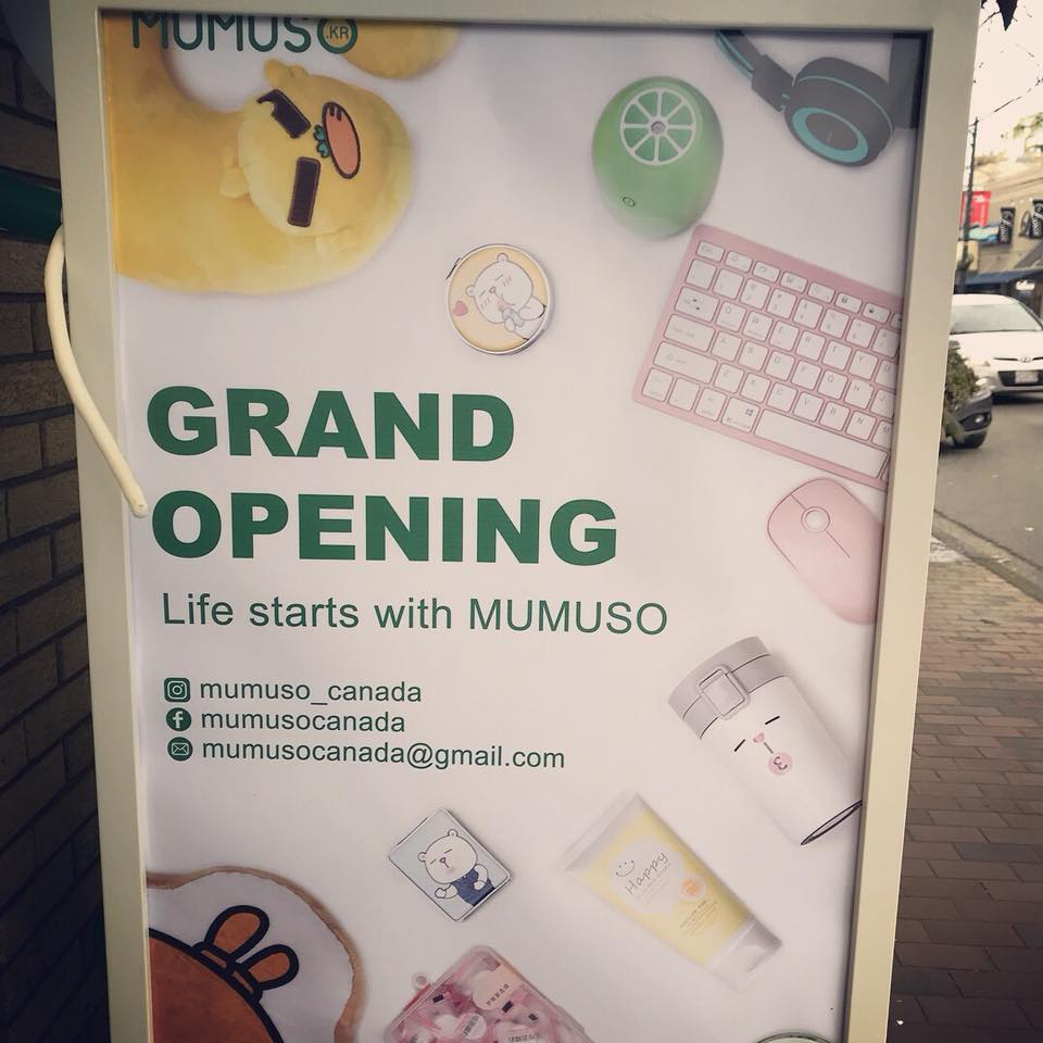 Mumuso Grand Opening (Jan 2018)
