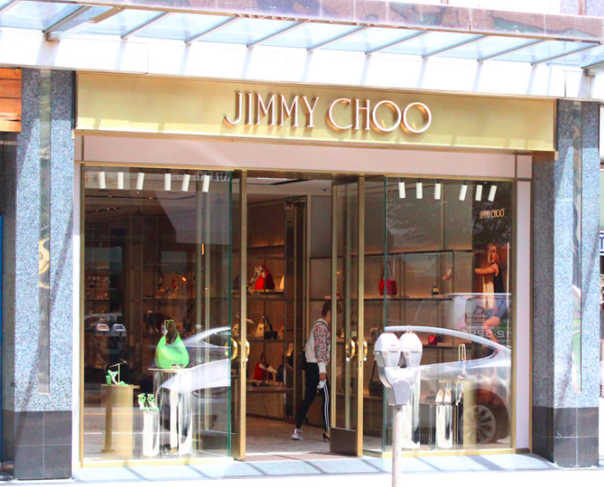 Jimmy Choo's new Vancouver store. Photo: CBRE