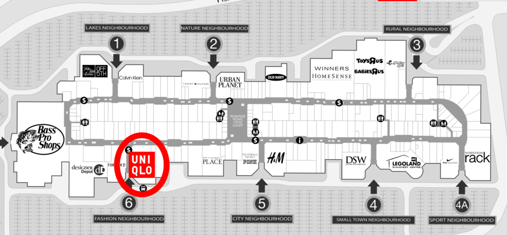Click image for interactive Vaughan Mills Floor Plan