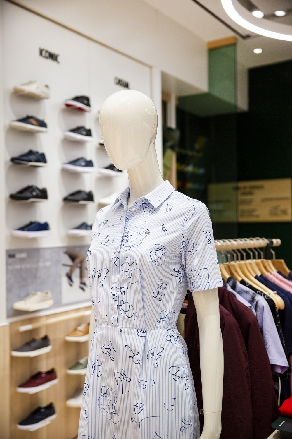 be477ea95 Lacoste Launches New Global Concept Store Design in Canada