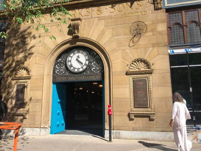 Historic entranceway. Photo: Maxime Frechette
