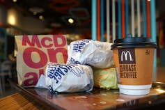 Egg McMuffins are a popular McDonald's item but, except for sausage or bacon, customers don't get as much choice as they do at sit-down restaurants. (Shutterstock)