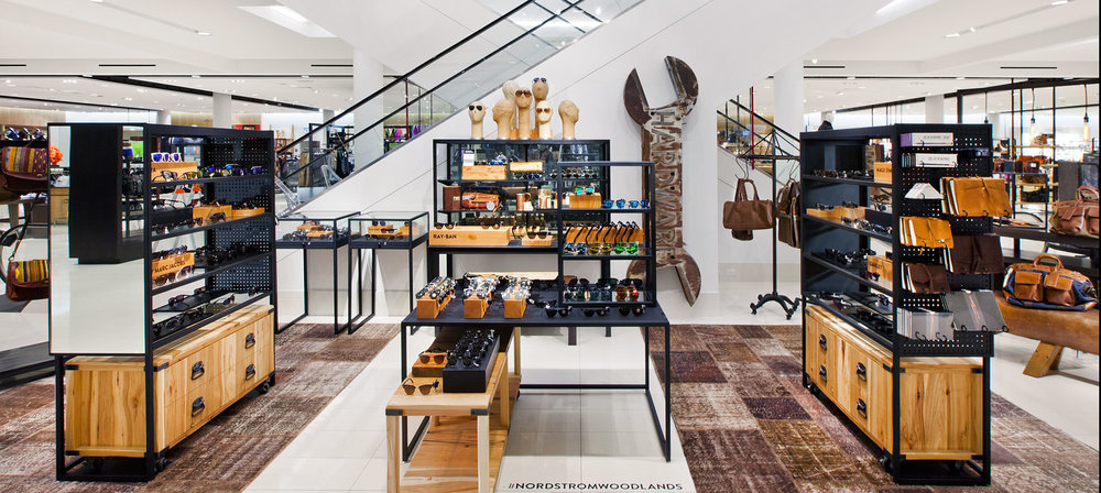 Nordstrom in Vancouver is good example of visual merchandising. Photo: Callison RKF