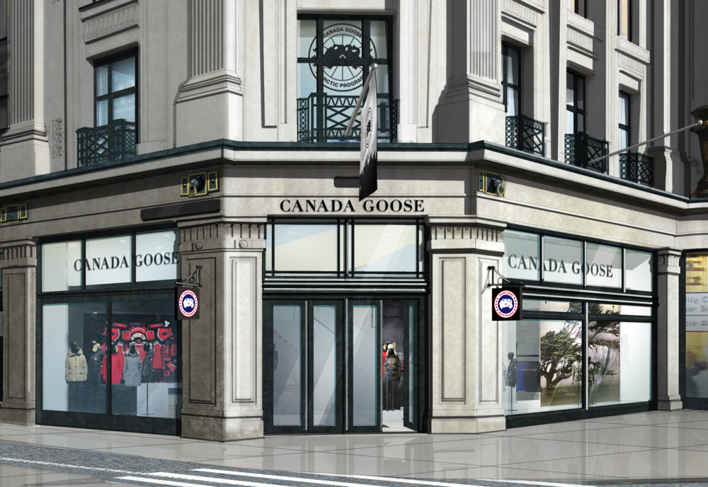 canada goose london address