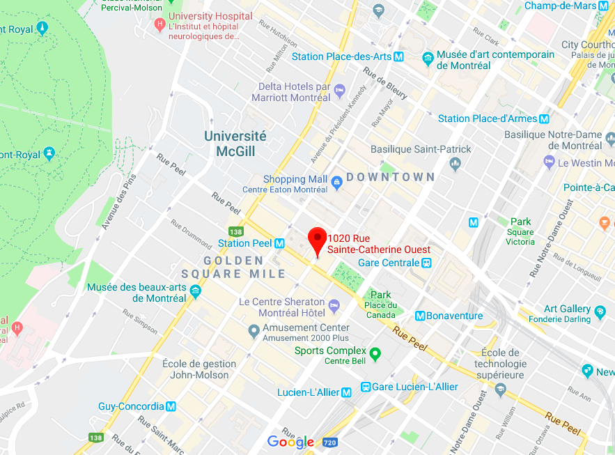 Montreal: Click Image for Interactive Google Map