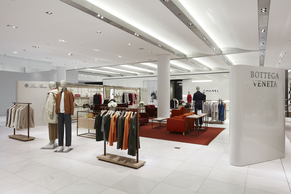Renovated Vancouver Accessories Hall. Photo: Holt Renfrew