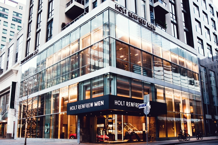 Holt Renfrew men -- the 16,500 square foot store opened in September of 2016, and the store is now for sublease and is expected to close within the next two years. Photo: Holt Renfew