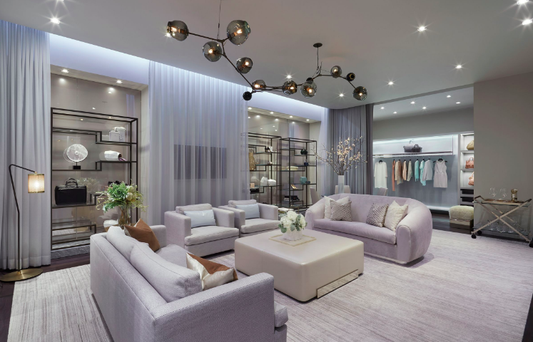 'The Apartment' at Holt Renfrew, Yorkdale. Photo: Janson Goldstein