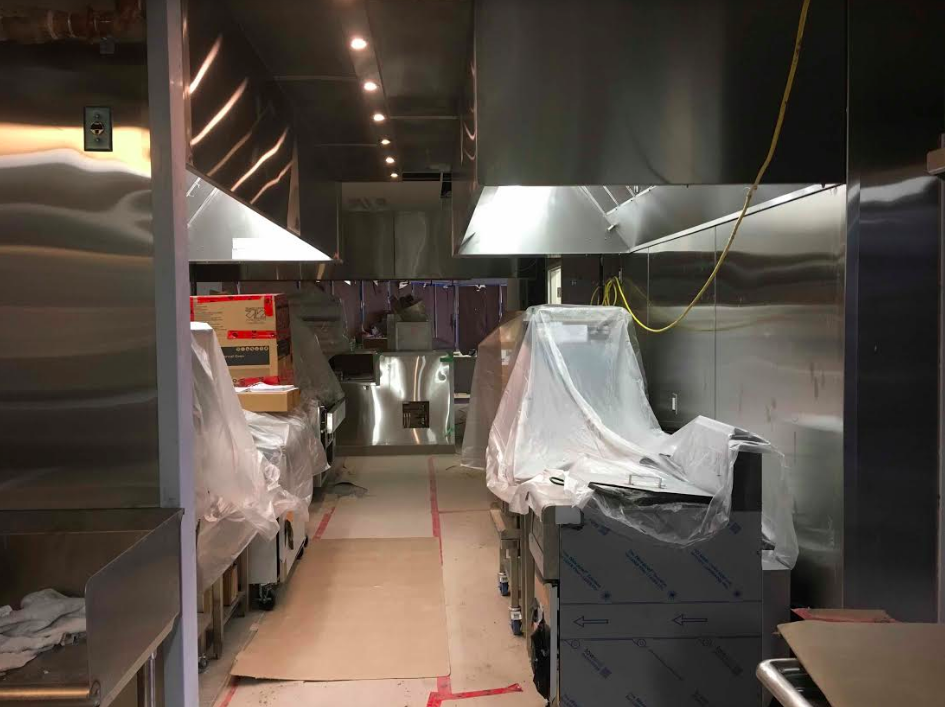 equipment being installed in a new Jollibee location in Mississauga Ontario -- work is being done by noted retail/restaurant construction company  BUILT IT by Design . Photo: BUILD IT by Design.