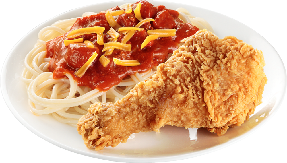 Jolly Crispy Chicken and Spaghetti Combo