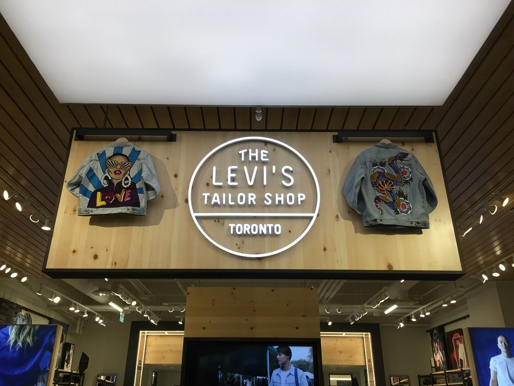 b4876e5d The Tailor Shop Mr. Bagattini mentioned is one of the customization  features in the new store. Several of Levi's Canadian stores now carry  'Tailor Shops' ...