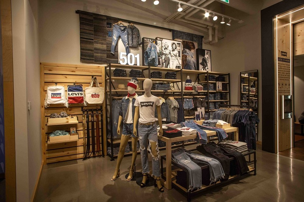 988937c5 The Levi's Authorized Vintage offering is particularly notable, given that  the CF Toronto Eaton Centre store is the only one in Canada to carry the  range of ...