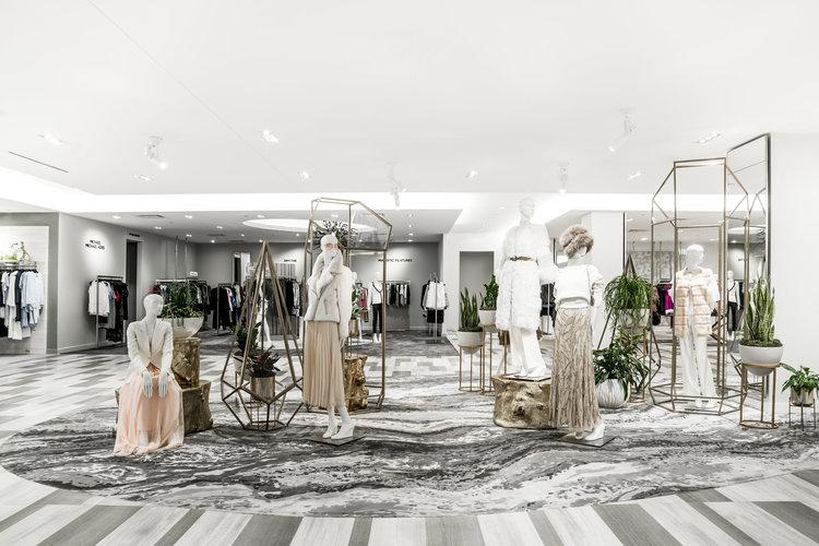 Calgary Saks Fifth Avenue (Women's designer Department on 2).PHOTO: SAKS FIFTH AVENUE
