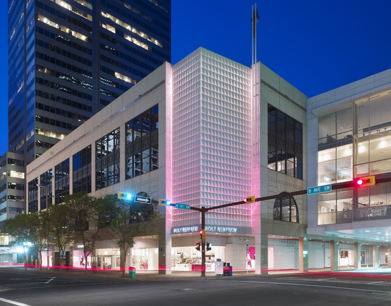 Holt Renfrew's downtown Calgary store will lose its Louis Vuitton boutique this year to CF Chinook Centre. Photo: Entuitive