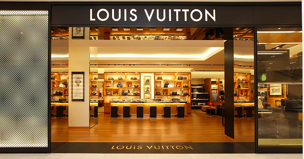 Louis Vuitton at Holt Renfrew in Calgary -- the store will relocate to CF Chinook Centre this fall into a space wewll exceeding 4,000 sq ft. Photo: DKStudio