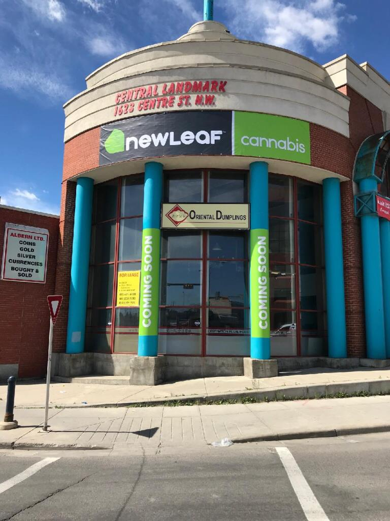 NewLeaf Cannabis. Photo: NewLeaf Cannabis website