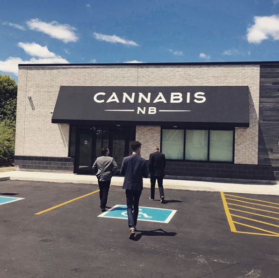 Example of New Brunswick Real Estate used for Cannabis Sales