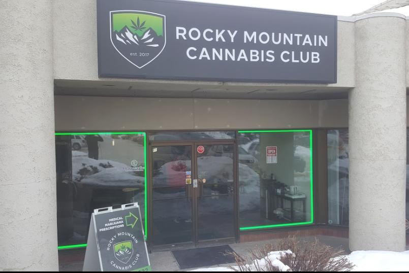 Rocky Mountain Cannabis Club/Ten Peaks Cannabis (Calgary). Photo:  Ten Peaks Cannabis Google Listing
