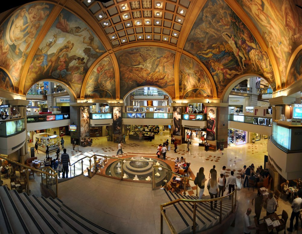 Galerías Pacífico shopping centre in Buenos Aires, Argentina. Photo:  De Paserio