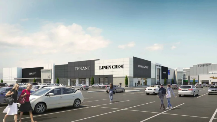 Mic Mac Mall includes Linen Chest Concept Store. Rendering: Ivanhoe Cambridge