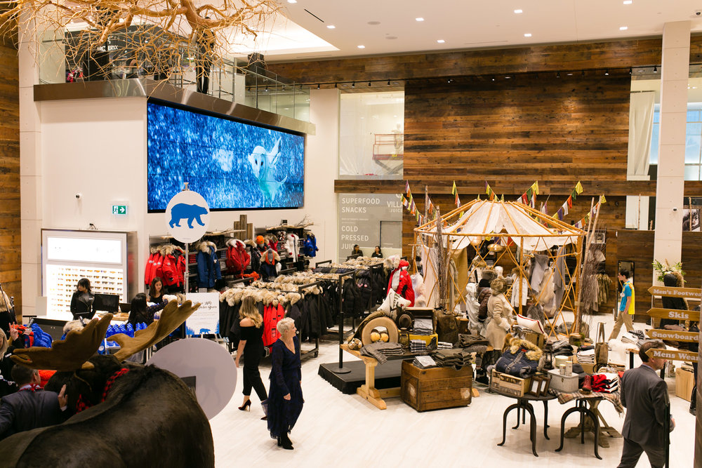 Yorkdale Grand Opening, Photo:exingtonandco.ca