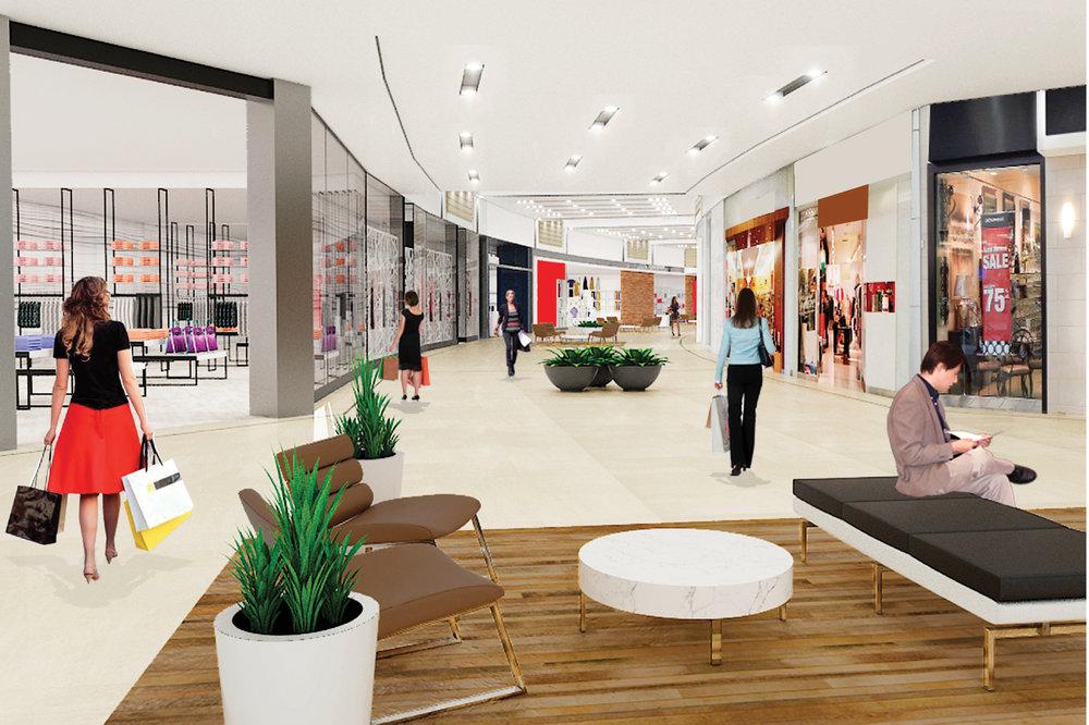 Mall Renderings