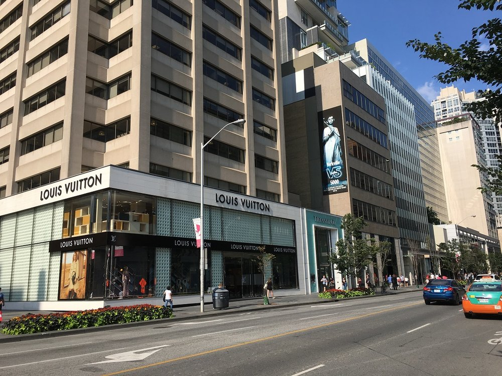 Louis Vuitton and Tiffany & Co. anchor 150 Bloor St. W., PHoto: Craig Patterson