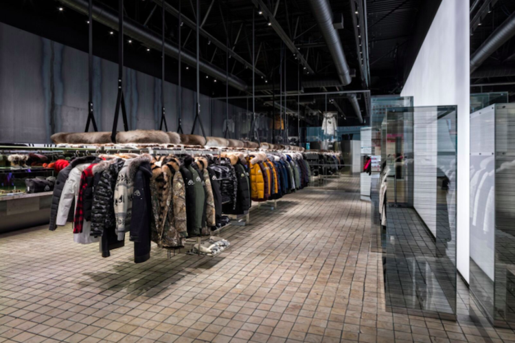 Yorkdale Store. Photo: Moose Knuckles.