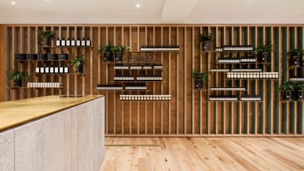 Aesop Mile End (Montreal) location. Photo: Aesop Website