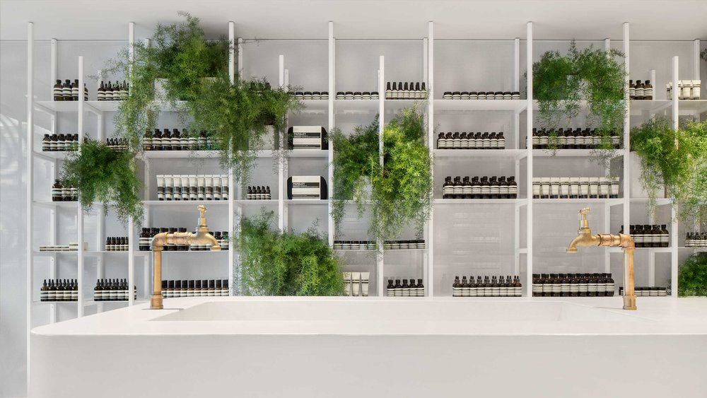 Aesop Rosedale (Toronto) location. Photo: Aesop Website