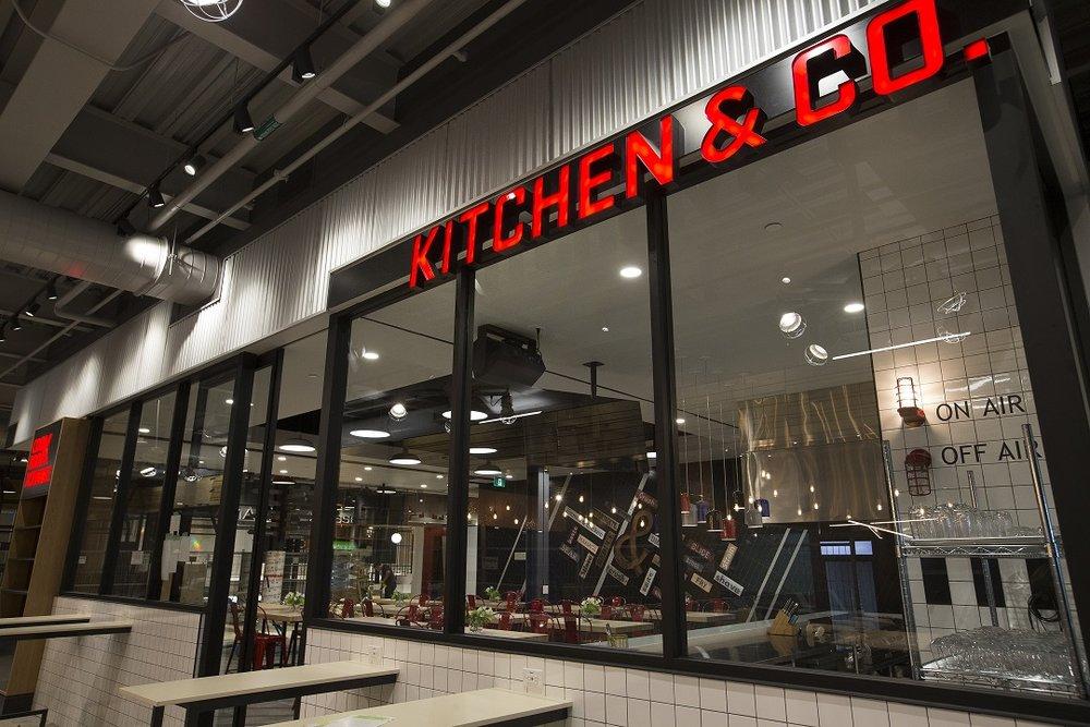 'Kitchen & Co.' demonstration kitchen