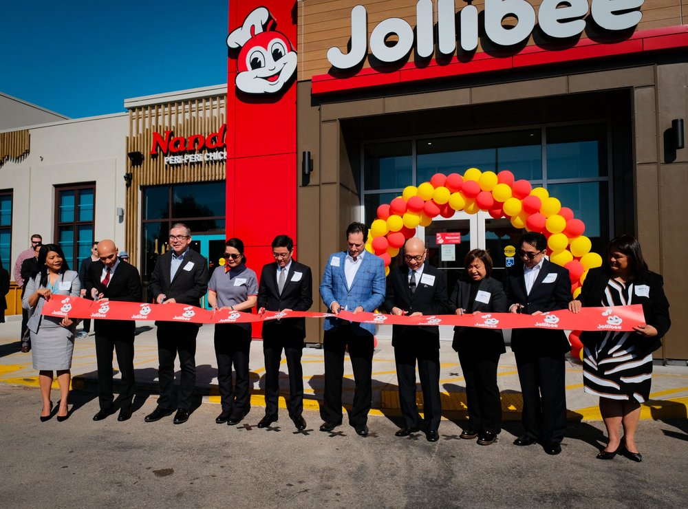 SCarborough Jollibee location opening. Photo: Jollibee Canada Facebook