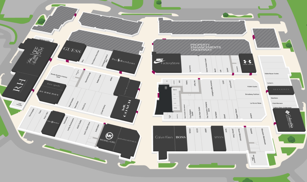 Interactive Mall Map