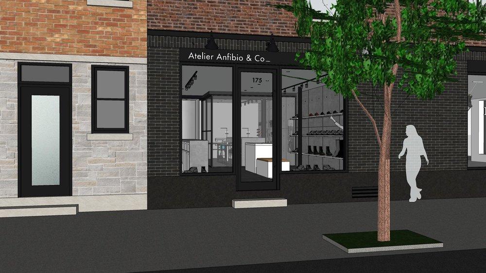 Rendering: Anfibio Website