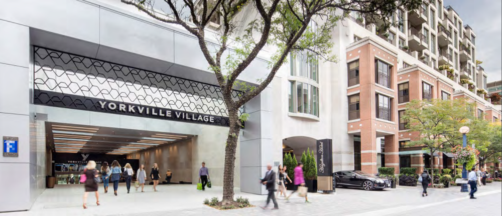 Yorkville Village. Photo: First Capital Realty. Photos below are also of Yorkville Village