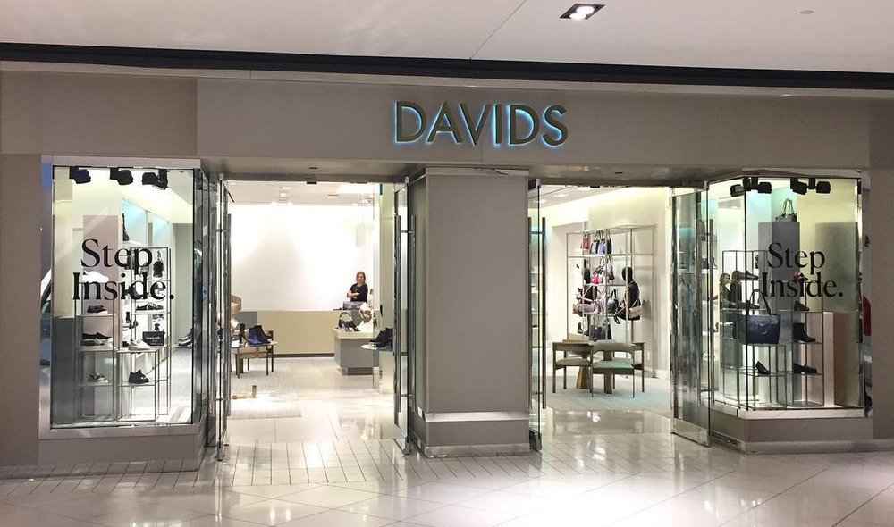 CF Rideau Centre (Ottawa) location. Photo: Davids Footwear Facebook