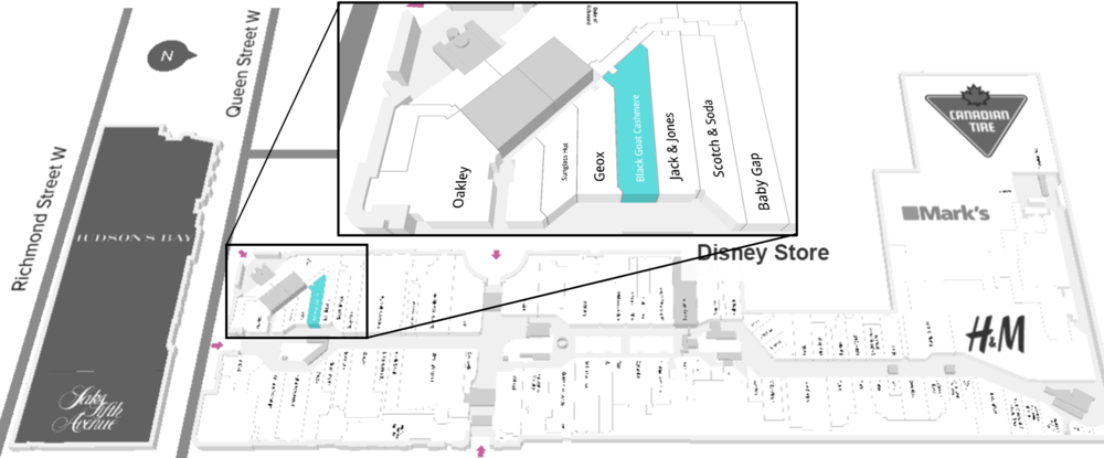 Click for interactive Mall map