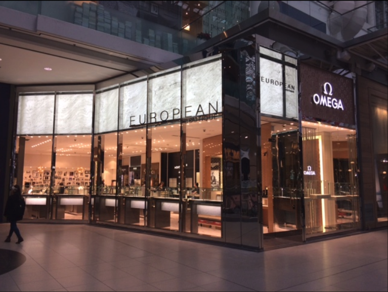 The CF Toronto Eaton Centre store will look different from this photo when completed. Photo: European Boutique
