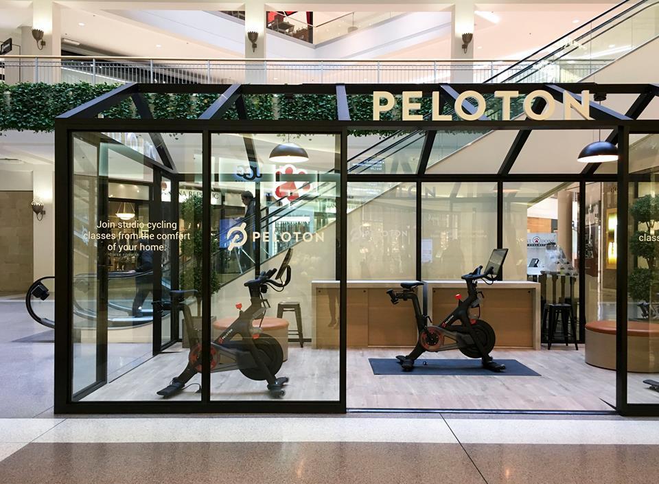 Minneapolis showroom. Photo: Peloton Facebook