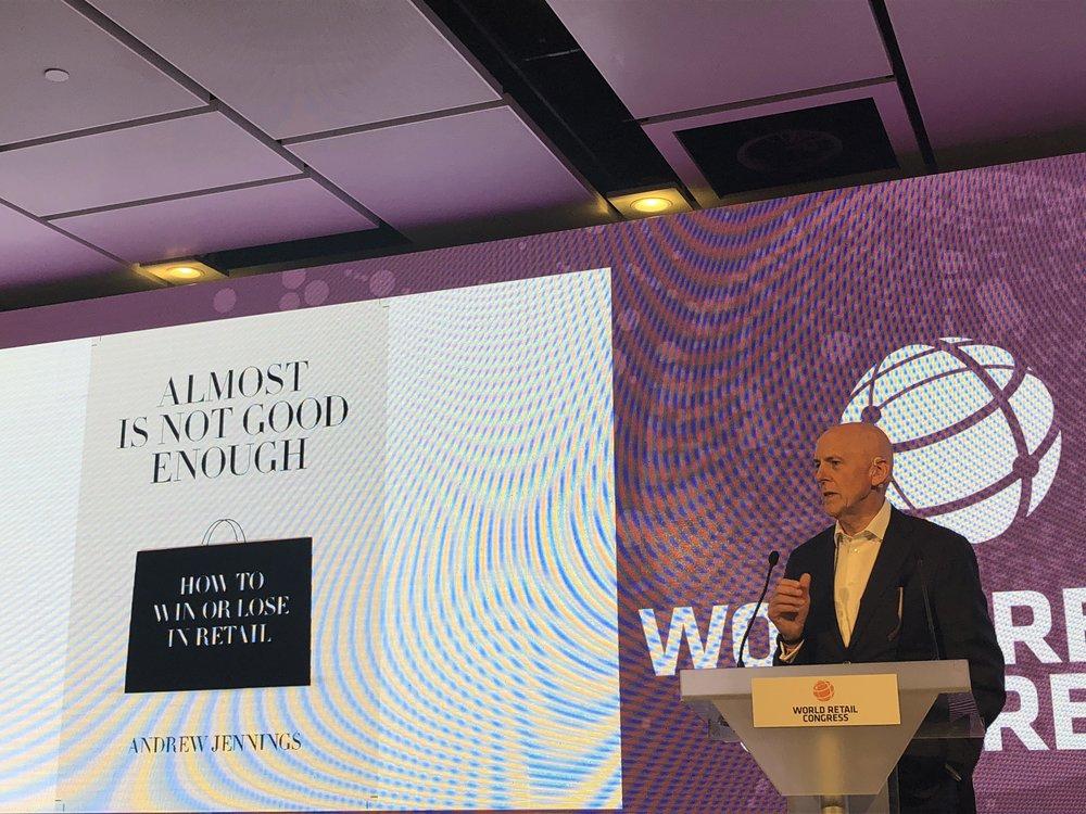 World Retail Congress. Photo: Andrew Jennings LinkedIn