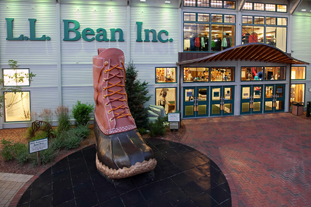 L.L.Bean Flagship Store in Freeport, Maine. Photo: L.L.Bean Website