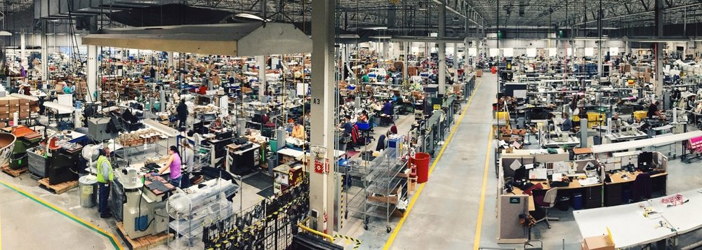 Maine Manufacturing facility. Photo: L.L.Bean Website
