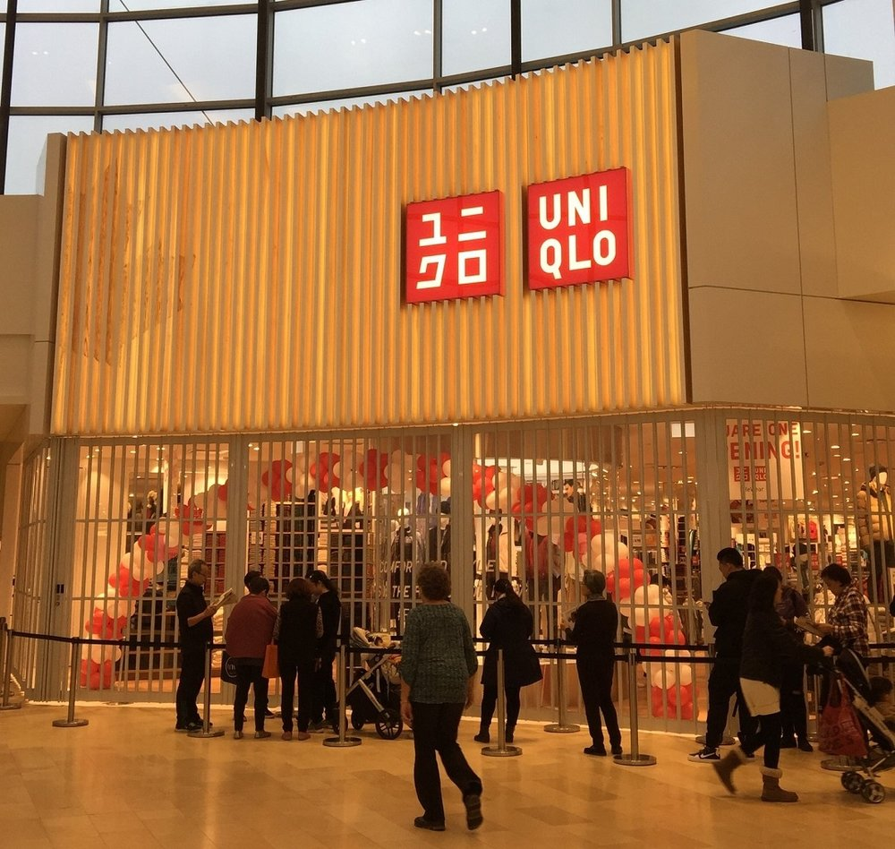 Square One Location. Photo: Uniqlo Facebook