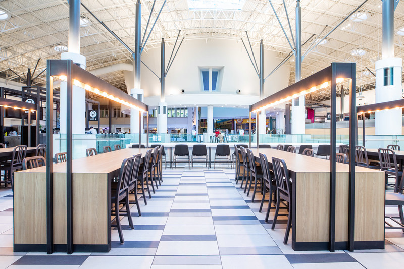 Chinook Centre Dining Hall Revitalization