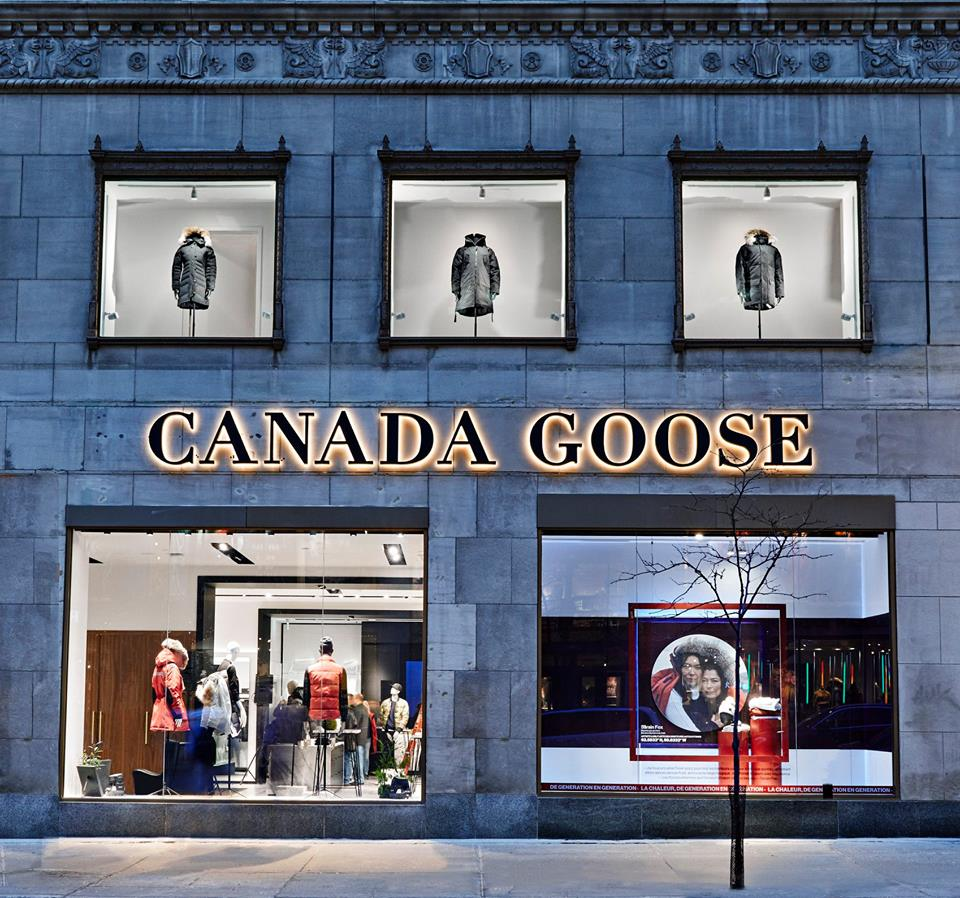 canada goose stores new york