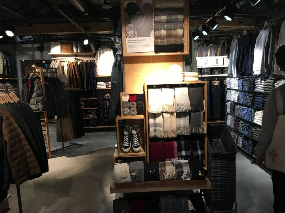 Ground floor apparel and accessories
