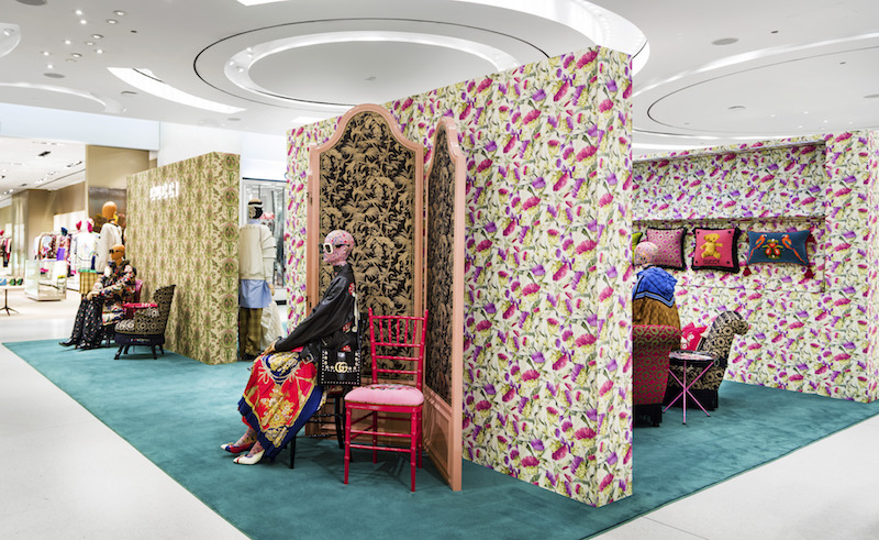 ca9db13f4ef7 BRIEF  Gucci Launches Home Furnishings Shop-in-Stores