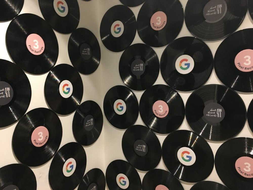 SLIDESHOW: Google 'Pixel Records' Pop-Up in Toronto