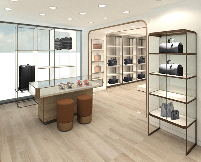 Men's wallet and accessory area. Image: DKStudio