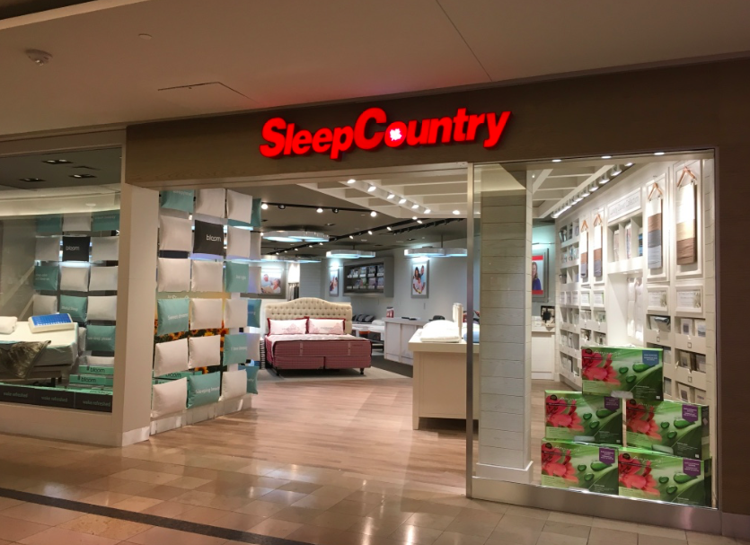 Sleep Country at CF Sherway Gardens in Toronto. Photo: Craig Patterson
